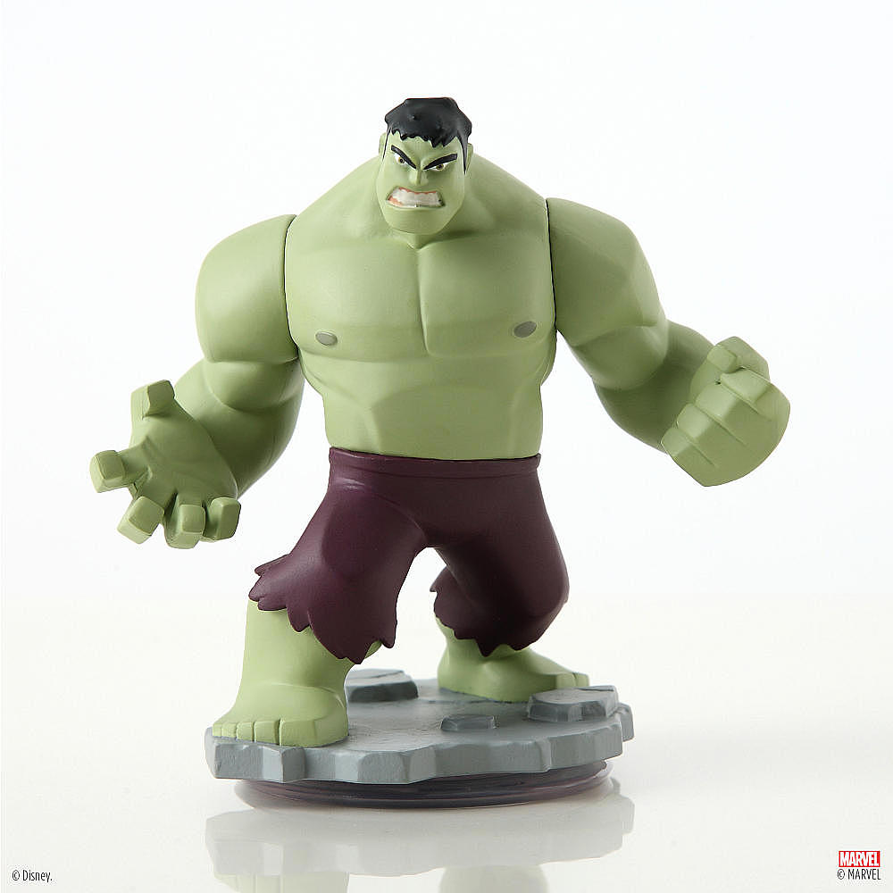 Disney Infinity Marvel Super Heroes Hulk Figure For Only