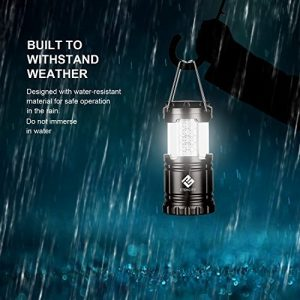 2 Collapsible Led Camping Lanterns Includes 6 Aa