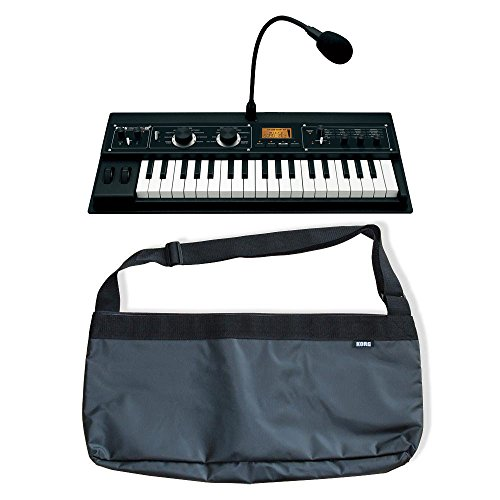 korg microkorg xl 37 key synthesizer vocoder with expanded pcm plus korg microbag tote style. Black Bedroom Furniture Sets. Home Design Ideas