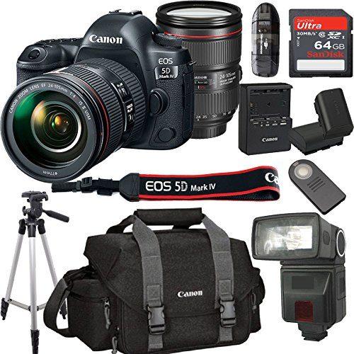 Canon EOS 5D Mark IV With 24-105mm f/4 L IS II USM Lens Kit